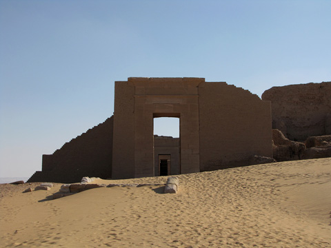 Temple of Osiris/Serapis at Dush