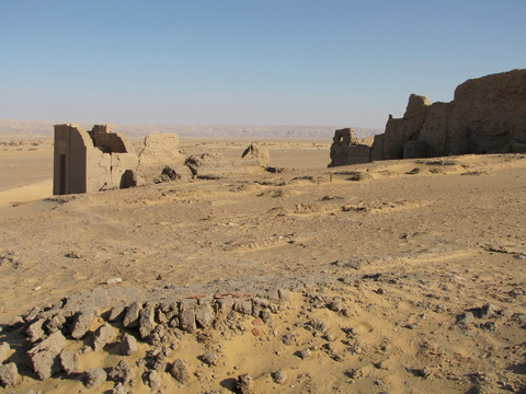 Fortress and Temple at Dush