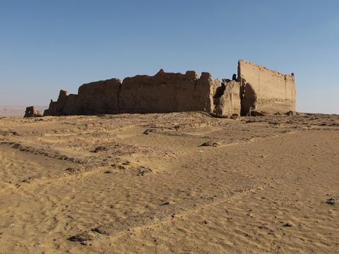 High fortress walls