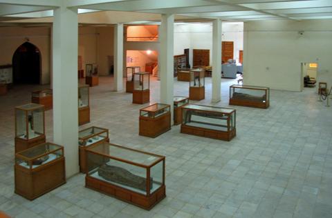 Ground floor displays