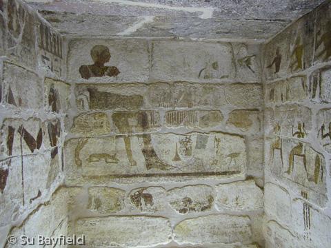 Burial chamber of Mastaba III (Khentika)