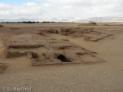 Mastabas at Qila el-Dab'a