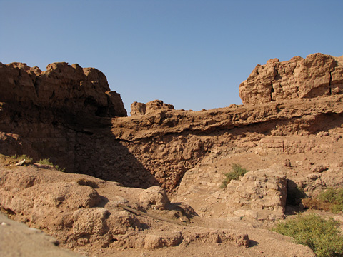 Ruins at Mut el-Kharab