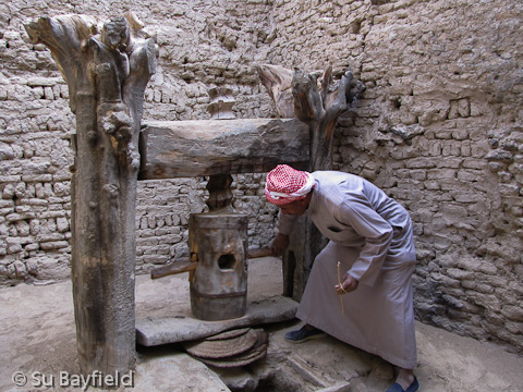 Olive press in el-Qasr