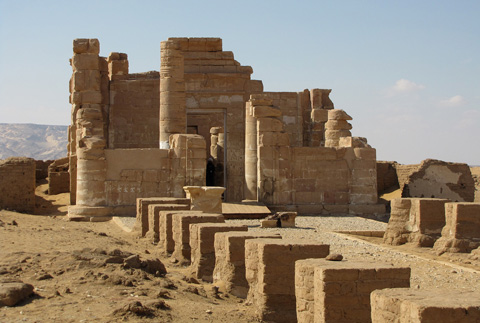 The Temple at Deir el-Hagar