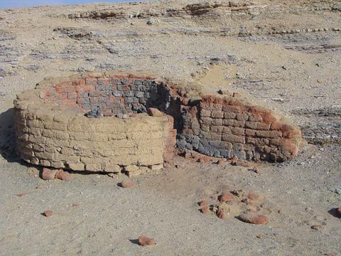 Roman remains at el-Muzzawaka