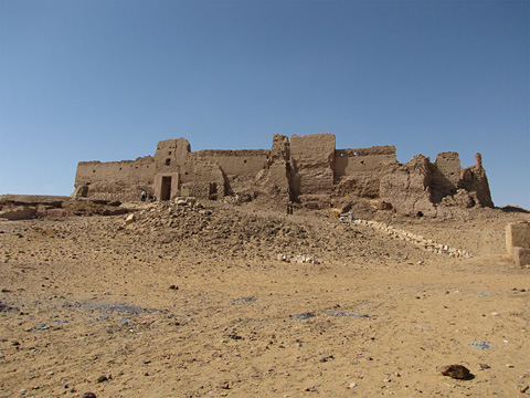 Qasr el-Ghueita from the east