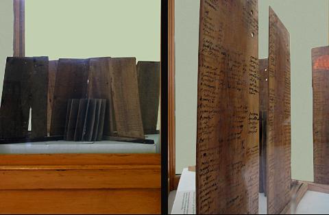 The Kellis Wooden Books