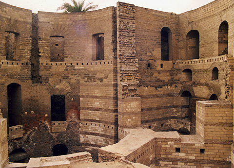 Babylon fortress walls