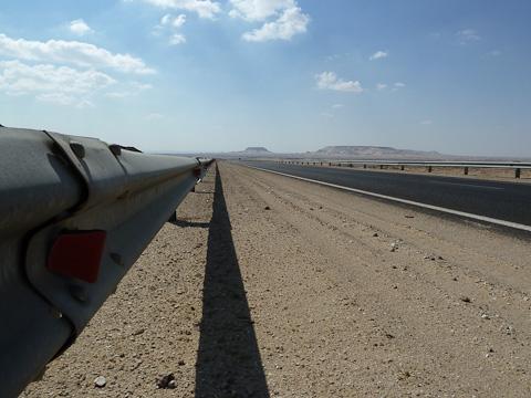 The long road to Kharga