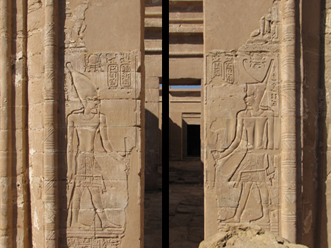 Ptolemy III on the main gateway