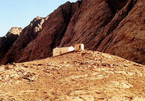 Chapel of the prophet Aaron, Mount Sinai