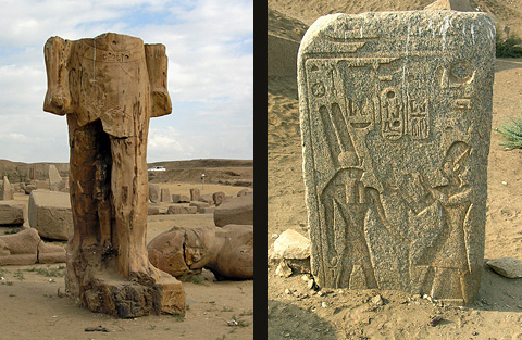 Rameses II at Tanis