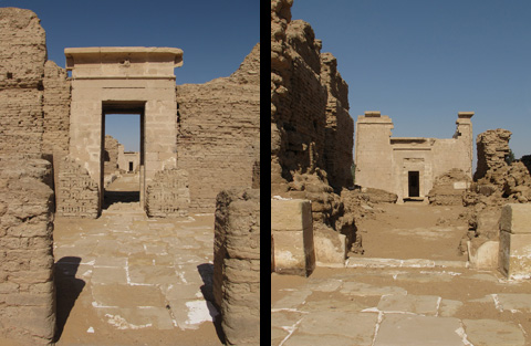 Qasr el-Zayyan entrance