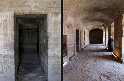 Sanctuary and Vaulted Hall