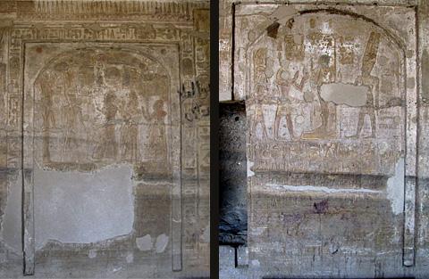 Stelae of Merenptah and Rameses II