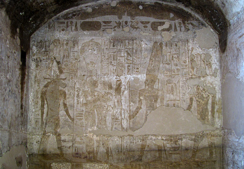Khnum, Tauret, Horemheb, Amun-Re & Sobek