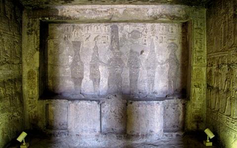 Figures in the Sanctuary