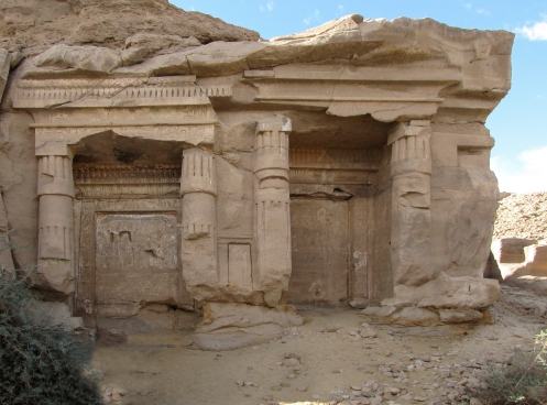 Royal Shrines at Gebel el-Silsila West