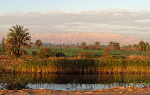 The Eastern Mountains beyond the Nile