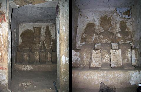 Gods in Seti's Speos