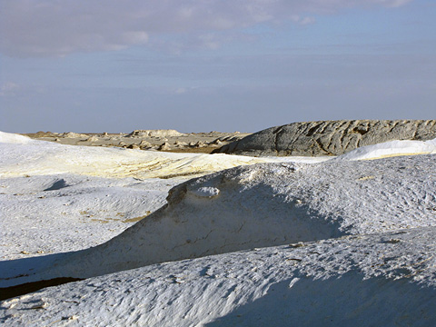 Chalk landscape of the White Desert